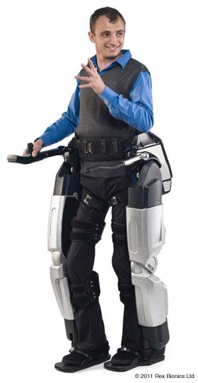 Exoesqueleto robótico con micromotor