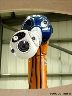 Brazo robotico con micromotor dc