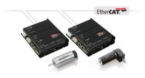 EtherCAT micromotor