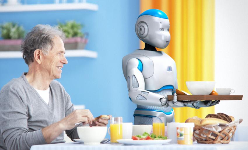 Micro motor DC_ robot humanoide