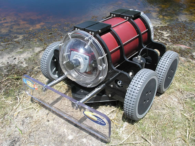 robot submarino micromotor
